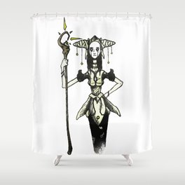 The Witch Shower Curtain