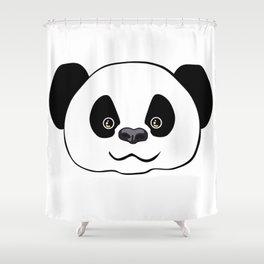 Happy Panda  Shower Curtain