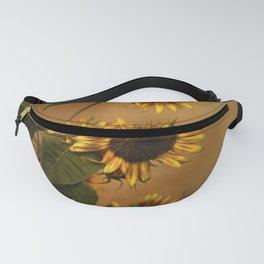 Origin Of Sunflowers Fanny Pack
