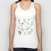 plants Tank Tops featuring Plants  by Maggie Chiang