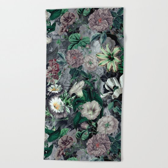 Floral Camouflage VSF016 Beach Towel