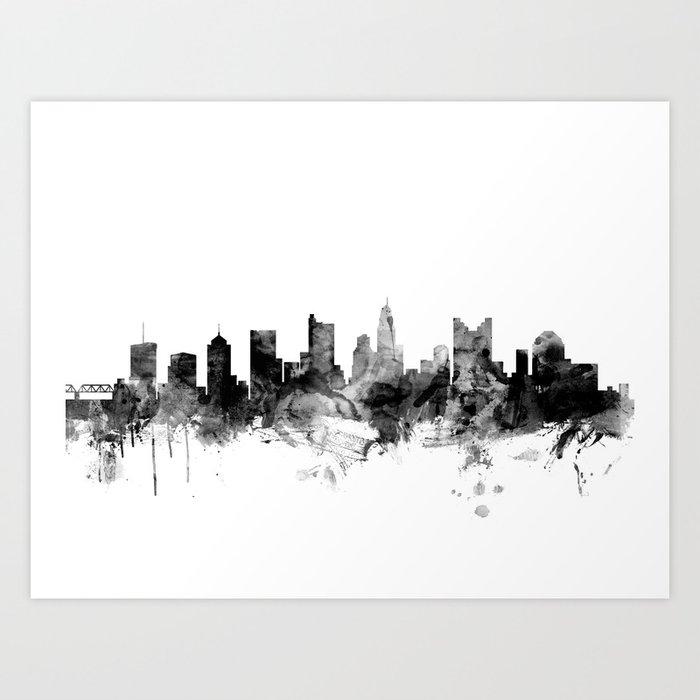 Columbus Ohio Skyline Kunstdrucke