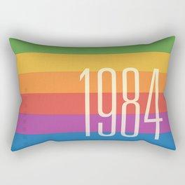 1984 (h) Rectangular Pillow