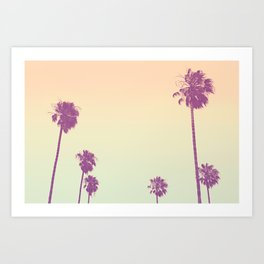 Pam Tree Candy Art Print