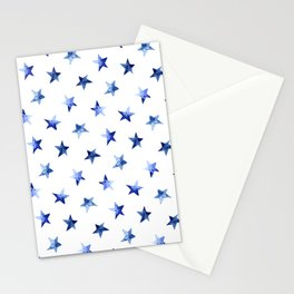 Starry || watercolor Stationery Cards