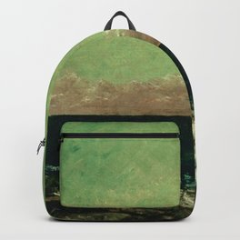 """Gustave Courbet """"The Mediterranean"""" Backpack"""