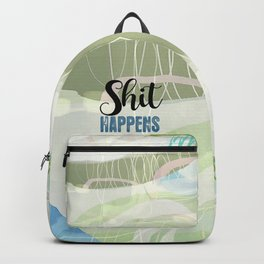 Shit Happens Backpack