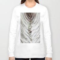 succulent Long Sleeve T-shirts featuring Succulent  by Rachelvb