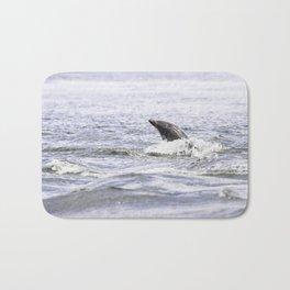 Playful dolphin Bath Mat