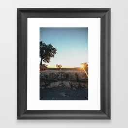 Sunset, Grand Canyon Framed Art Print