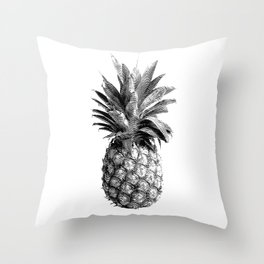 Pineapple Engraving Throw Pillow