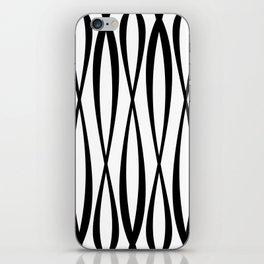Background of seamless geometric pattern iPhone Skin
