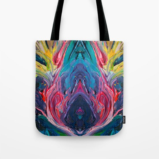 Bird Flower Tote Bag