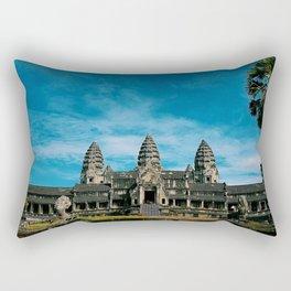 Angkor Wat Temple Cambodia Rectangular Pillow