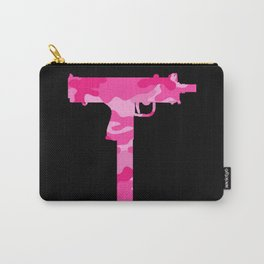 Pink Camo Uzi Carry-All Pouch