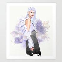 Lavender Delight Art Print
