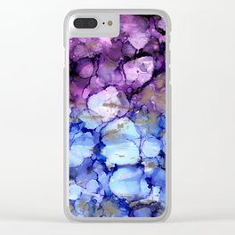 NEW Alcohol Ink Versus Clear iPhone Case