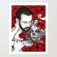 Year Of The Dead Art Print