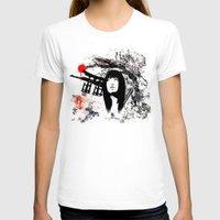 subaru T-shirts featuring Japanese Geisha Warrior by viva la revolucion
