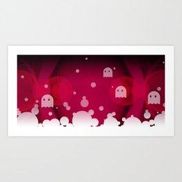 Hell Tale Pink. Art Print