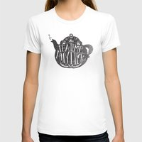 sansa stark T-shirts featuring TEA TIME. ANY TIME. by Matthew Taylor Wilson