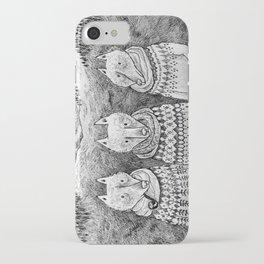 Icelandic foxes iPhone Case