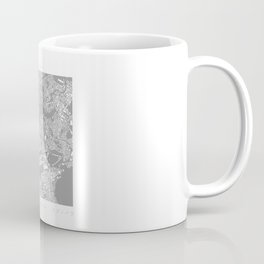 Edinburgh Figure Ground Coffee Mug