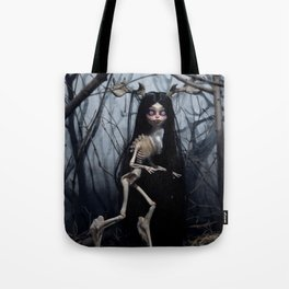 Wendigo in the Woods Tote Bag