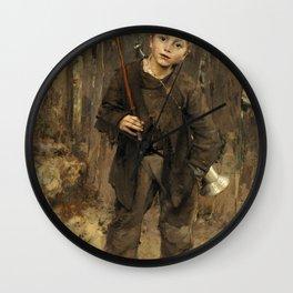 Jules Bastien-Lepage - Pas Mèche Wall Clock