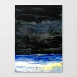 Ocean at Night Canvas Print