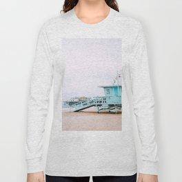Santa Monica Pier Lifeguard Long Sleeve T-shirt