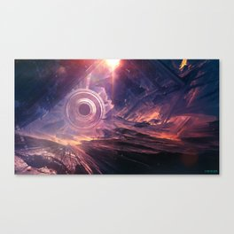 Void sector Canvas Print