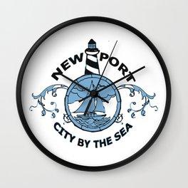 Newport RI. Wall Clock