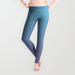 DIAMOND LOOK - Minimal Plain Soft Mood Color Blend Prints Leggings