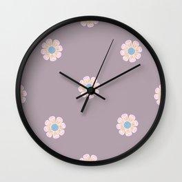 Ditsy Daisy Wall Clock