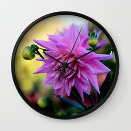 End of Summer Wall Clock