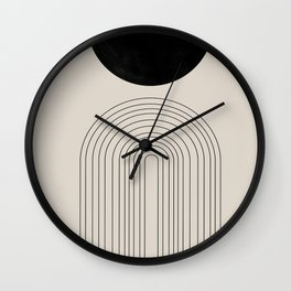 Arch, geometric modern art Wall Clock