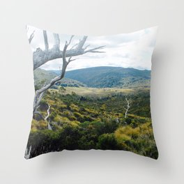 Cradle Mountain Boardwalk Throw Pillow