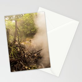 Volcano Outlet, Costa Rica Stationery Cards