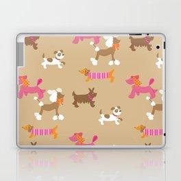 Walkies, Poodles, Sausage dogs and Terriers Laptop & iPad Skin