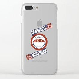 Michigan Clear iPhone Case