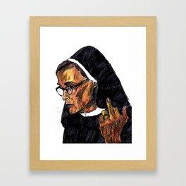 Jessica Lange Framed Art Print