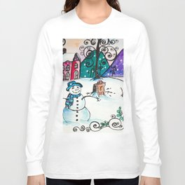 Holly Sled Long Sleeve T-shirt