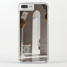 Sheikh Al Zayed mosque Abu Dhabi nº2 Clear iPhone Case