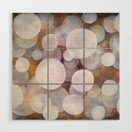 'No clear view 18' Wood Wall Art