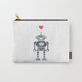 Robot Love Carry-All Pouch