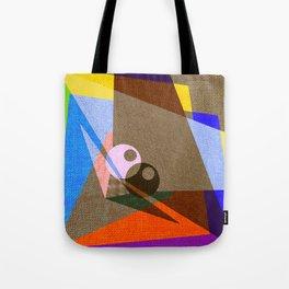 geometric eyes Tote Bag