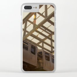 The Pink Line Clear iPhone Case