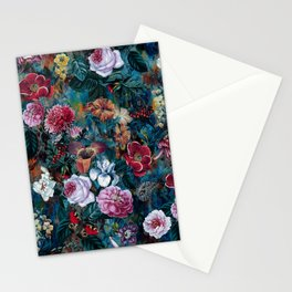 Dance of flowers Stationery Cards