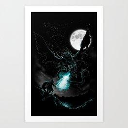 Meet the Myth Art Print